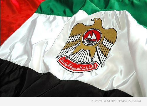 Wallpaper Flag of UAE Dubai Emirate (3)